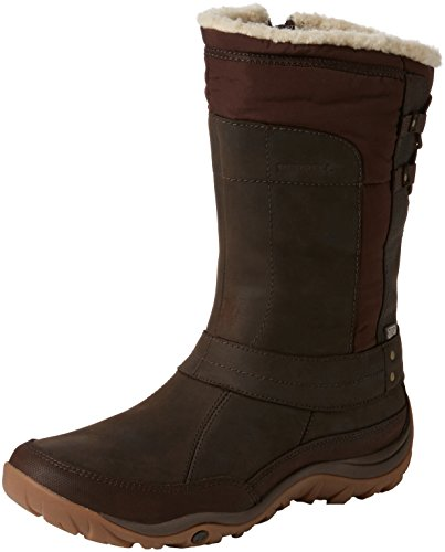 Merrell Womens Murren Mid Waterproof-w Snowboot Bracken