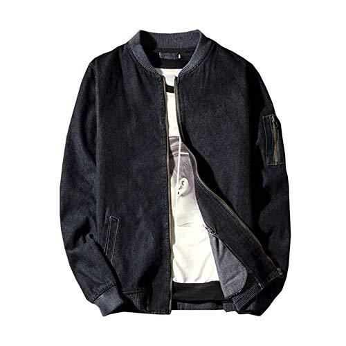 Nero Uomo In Jeans Giacce Giacche Bomber Giacca Transizione Di Gladiolusa Jacket vPqtwOn