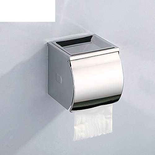 Paper Toilet Card (YAOHAOHAO Bath rooms tissue box/stainless steel/with ashtray/Health Professional/toilet paper - A CARD BOARD)