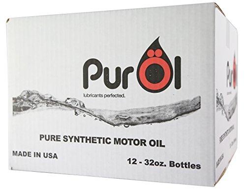 PurOl Elite Synthetic Motor Oil 5w30 12 X 1-liter Bottle