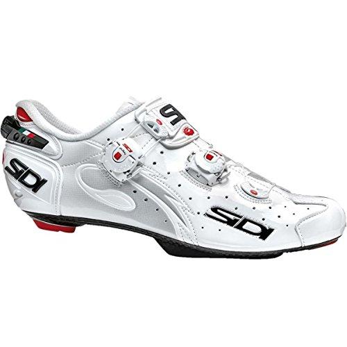 おばあさん社会学モロニック(シディ) Sidi Wire Push Speedplay Cycling Shoe メンズ ロードバイクシューズWhite [並行輸入品]