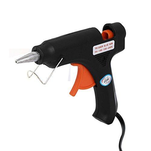 eDealMax Art Craft Repair Electric Heating Hot Melt Sticks Trigger Glue Gun 20W