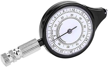 Alomejor ext/érieur Curvim/ètre Mini ext/érieur Carte Distance Calculatrice Outil de jauge de Mappage