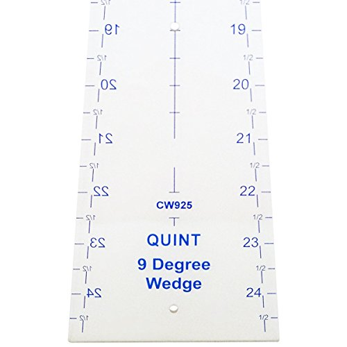 Quint Measuring Systems CW925 9-Degree Circle Wedge, 25-Inchh by Quint Measuring Systems