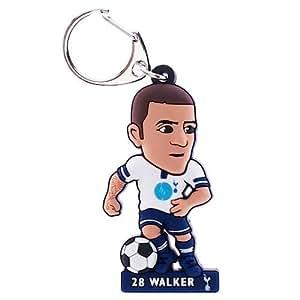 Tottenham Hotspur F.C, PVC llavero Walker - Kyle Walker PVC Llavero - 60 mm x 35 mm aprox - en un paquete de ampolla - Producto oficial