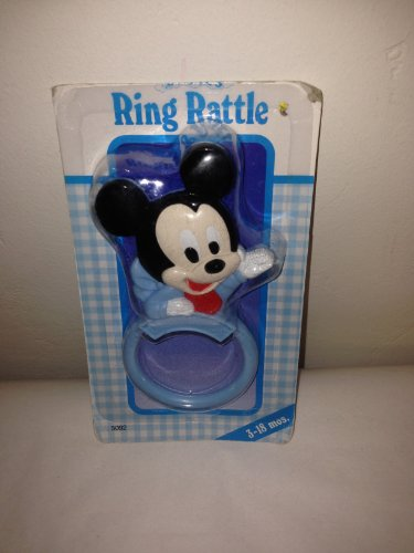 """Collectible Micky Mouse """"Ring Rattle"""" 1984"""