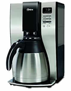 Oster Coffee Maker Troubleshooting : Oster 10-Cup Stainless Steel Thermal Coffee Maker: Amazon.ca: Home & Kitchen