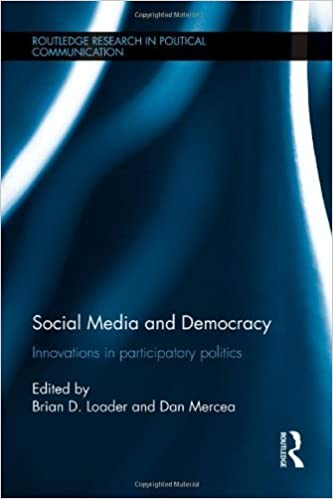 Téléchargements audio Ebooks Social Media and Democracy: Innovations in Participatory Politics (Routledge Research in Political Communication) by Routledge (2012-01-25) B01A0D2P2C PDF FB2 iBook