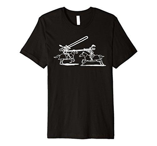 Trombone Marching Band - Mens Trombone Jousting Marching Band T-Shirt For Trombonists Medium Black