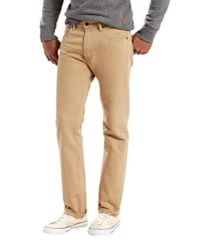 Levi's Men's 501 Original Fit Jean, Timberwolf, 34x34 (5 Design Pocket)
