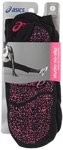 ASICS Women's Studio No-Slip Single Tab Sock, Small, Performance (Dri Fit Performance Tab)