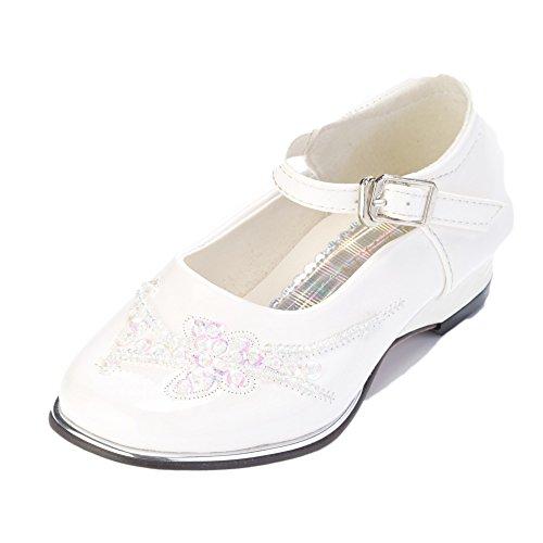 festlicher Mädchenschuh Lea, Grössen Schuhe:25;Farbe:Weiss