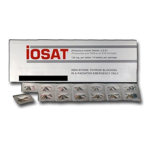 IOSAT Potassium Iodide Tablets June 2024 Expiration Date or later (Tablets Potassium Iodide)