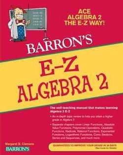 Meg Clemens: E-Z Algebra 2 (Paperback); 2012 Edition