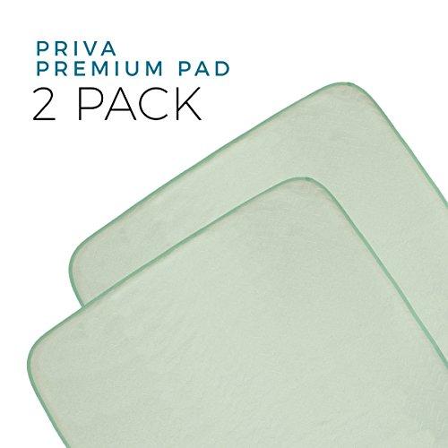Priva Premium 2 Piece Absorbent Waterproof Sheet and Mattress Protector