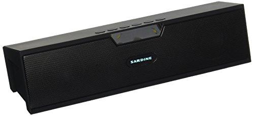 Kartice Bluetooth Speakers Display Input Black