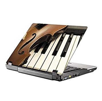 "Giovanna Piano Vinilo Adhesivo de Vinilo para Ordenador portátil Etiqueta Adhesiva diseño Piano 12""12.6"""