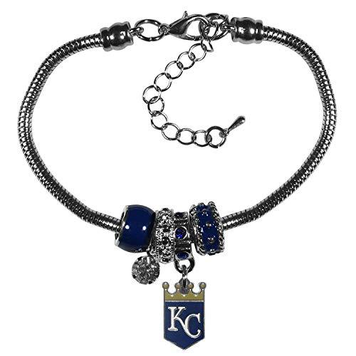 (Siskiyou MLB Kansas City Royals Euro Bead Bracelet )