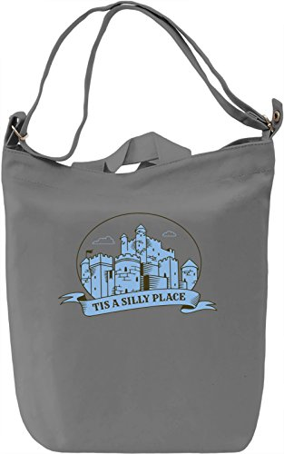 Tis A Silly Place Borsa Giornaliera Canvas Canvas Day Bag| 100% Premium Cotton Canvas| DTG Printing|