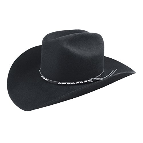 Bailey Western Mens 4429 Alamo Cowboy Hats, Black - 7 '1/4' by Eddy Bros.