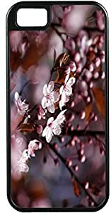 iPhone 4 Case iPhone 4S Case Cases Customized Gifts Cover purple Leaves - Ideal Gift