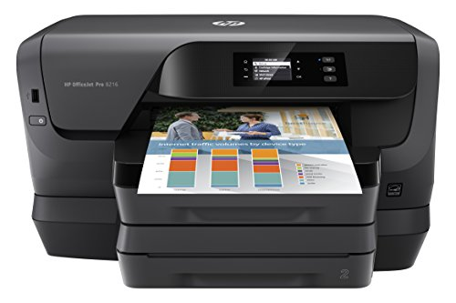 (HP OfficeJet Pro 8216 Wireless Professional-Quality Color Printer with Mobile Printing, Instant Ink ready)