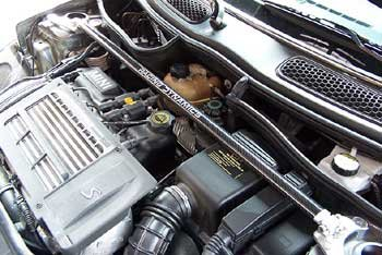 Racing Dynamics 196.99.50.011 Front strut brace for MINI Cooper R50 & S R53 (Dynamics Brace Front Strut Racing)