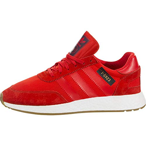 adidas I-5923 Men's Shoes /Running White/Gum, Core Red, 11 D(M) US