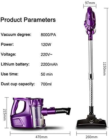 8000Pa Aspirateur Ménagers De Grande Puissance Sans Fil Portable Sweeper Mopping Machine À 360 ° Nettoyage Complet Verticale Clean Aspirateur