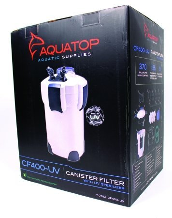Aquatop Aquatic Supplies 4 Stage Canister Filter With Uv Sterilizer 75 To 125 Gal CF400-UV
