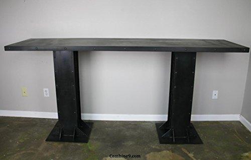 Vintage/Modern Industrial Table. Great for restaurant, lounge, hotel. - Restaurant Lounge