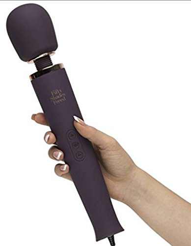 New Fifty Shades Freed Awash Sensation Mains Wand Massage Vibrator Vibe Massager - Versatile - Simple Controls - Flexible Neck - 20 Patterns 10 Speeds - Travel Ready! by Lovehoney (Image #4)