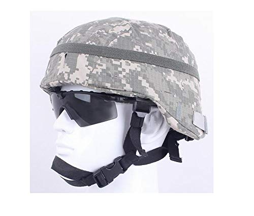 Jadedragon CamouflageHelmet Cloth/Helmet Cover with Elastic Band for The ACH/MICH Helmet One Size (ACU)
