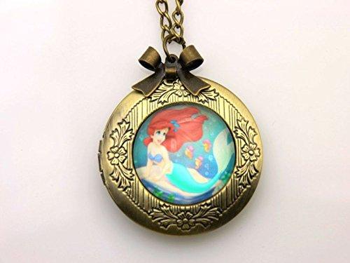 Little Mermaid Locket - 7