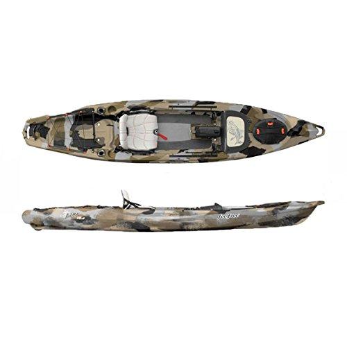 Feel Free Lure 13.5 Kayak with Sonar Pod Desert Camo