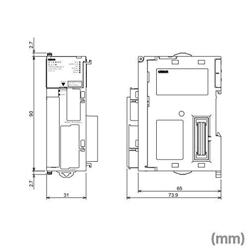 OMRON CJ1M-CPU12 CJ1M CPU Unit (Max. 320 I/O points)(10K steps) NN