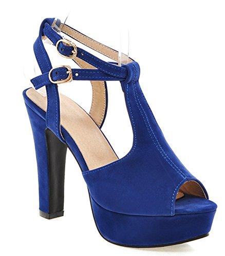 YE Blu Chiusura Donna a T blu rqf7Arw