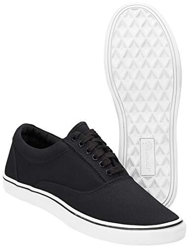 Schwarz Weißer Sohle Uomo Brandit Sneaker Mit B9040 ZxqtB7
