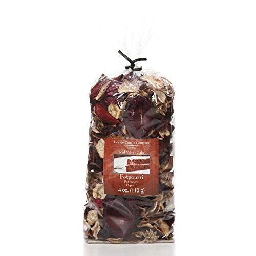 Hosley Red Velvet Cake Potpourri, 4 Oz. Ideal for Gift for Spa, Wedding, Party, Decorative Bowls O9