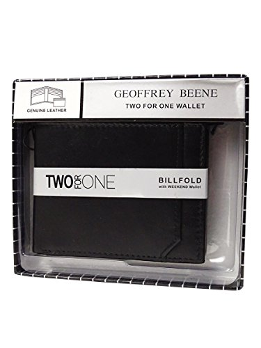 Geoffrey Beene Men's Billfold with Removable Id Card (Removable Id Billfold)