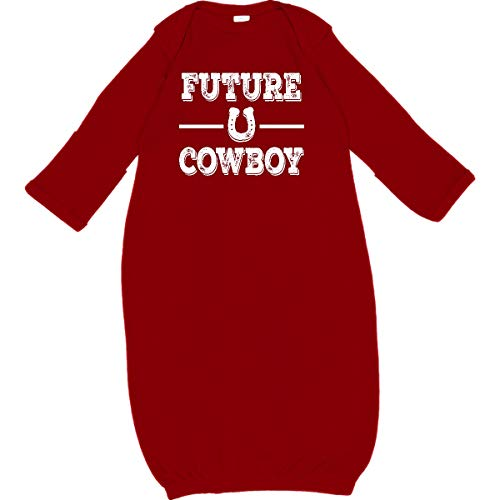 inktastic - Future Cowboy Boys Rodeo Newborn Layette Red 35bf4