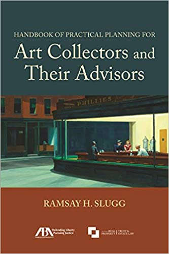 Book Handbook of Practical Planning for Art Collectors and Their Advisors