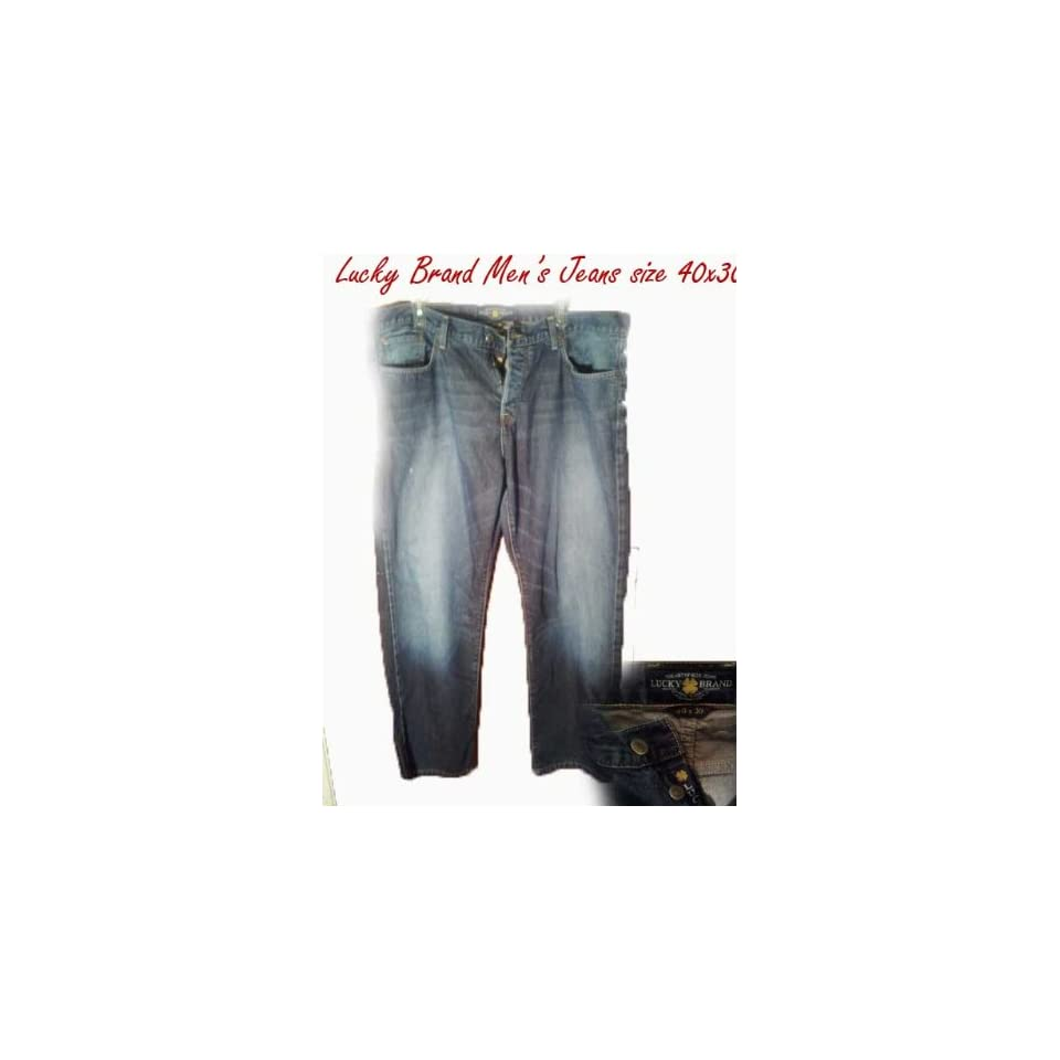 Lucky Brand Mens Jeans Size 40x30
