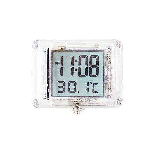 MOPOIN Motorhorloge, mini digitaal horloge motorfiets horloges waterdicht met 12 uur formaat tijd en temperatuurweergave…