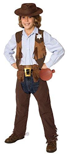 [Palamon - Cowboy Child Costume Kit] (Woman Gunslinger Costume)