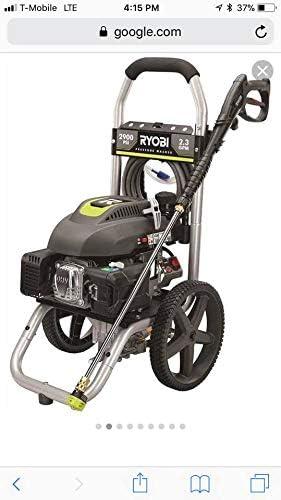 Amazon.com: Lavadora a presión eléctrica Ryobi ...