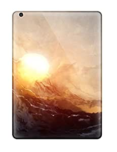 Snap On Case Cover Skin For Ipad Air(digital Sunset) 3352126K90495398
