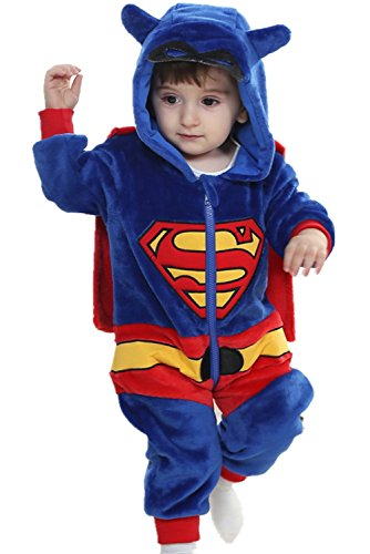 [DQdq Baby Boys' Halloween Costume Jumpsuits Autumn Outfit 110/(24-36 Months)] (Halloween Costumes 36 Months)