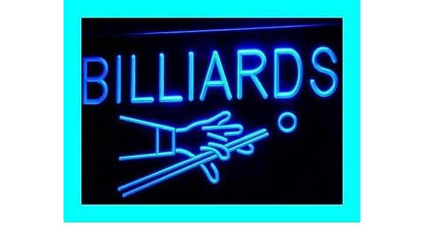 Jintora - Neon Sign - señal de neón - Billiards Pool - Piscina de ...