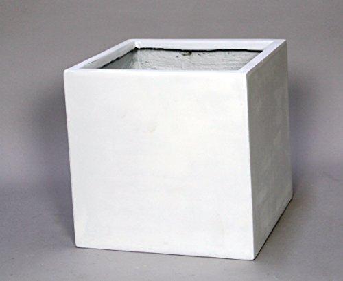 田中陶器 プランター ファイバークレー マットホワイト 10号プラ鉢対応 FC201A B01MXSX61K